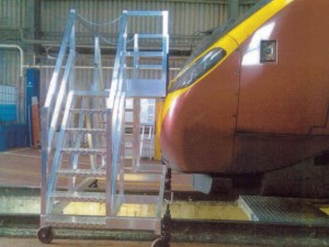 Train nose access solution