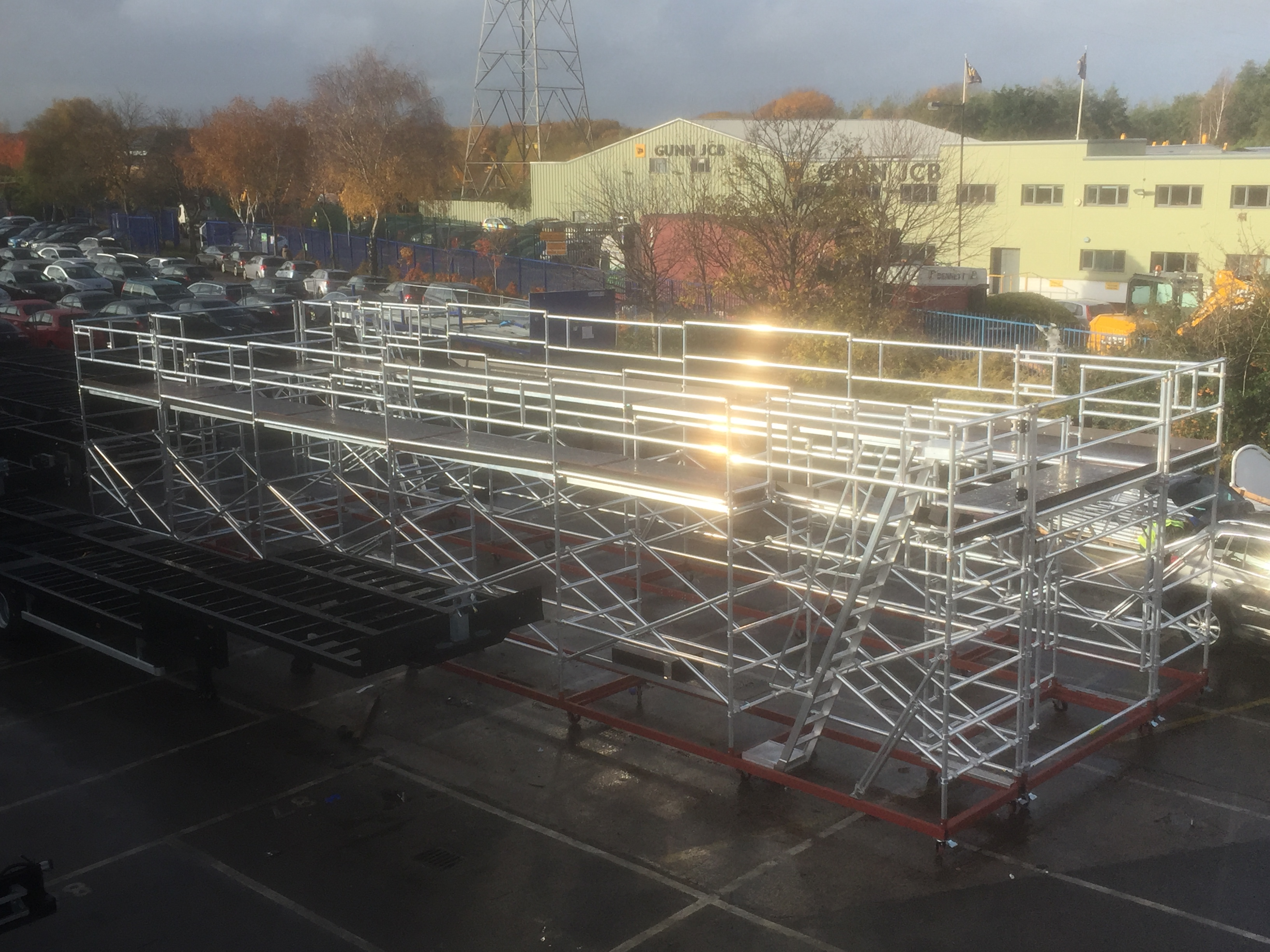 Heavy haulage platform