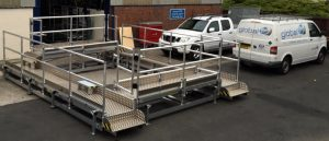 Aluminium Staging Bespoke Access Solution Manufacture Design