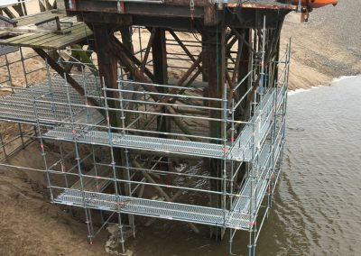 Jetty-Scaffolding_Painting_Contractor_Access_Platform