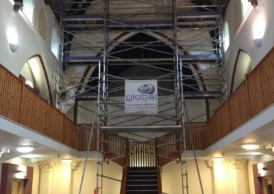 Scaffolding-Church_Indoor_Scaffolding_Aluminium_North_west_Access