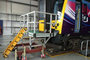 Train Platform GRP Access Bespoke Rail Industry