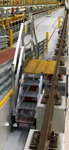 Rail_Pit_Access_Aluminium_Bespoke