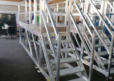 Steps_Access_Platform_Aluminium_Bespoke